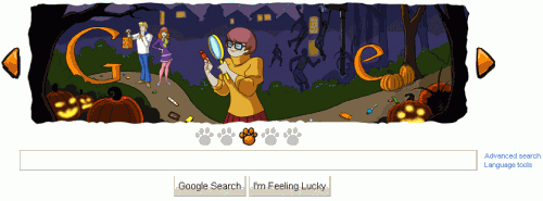 Scooby Doo Google Doodle Frame 3