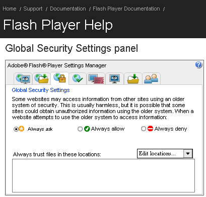 How to Configure your Adobe Flash Player - 404 Tech Support