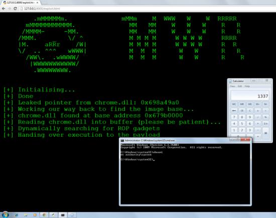 mwr chrome exploit