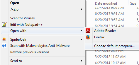 Firefox takes over as default PDF handler after update - 404