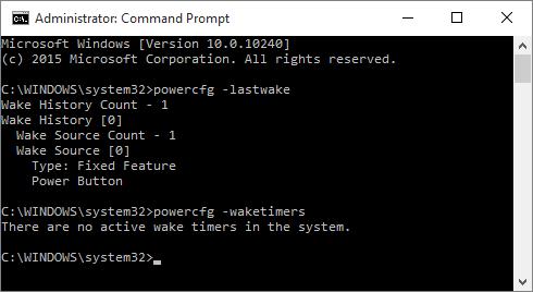powercfg