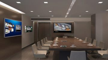What technology belongs in the modern conference room?