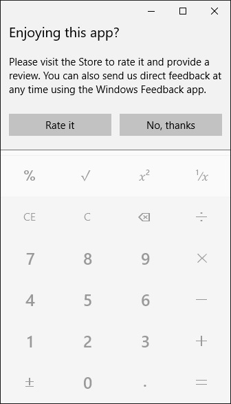 Fixing the Windows 10 calculator focus problem with Microsoft