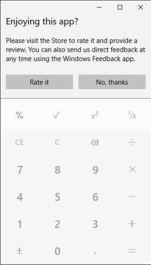 Fixing the Windows 10 calculator focus problem with