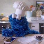 Cookie Monster appears in iPhone 6s commercial
