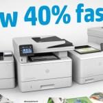 HP JetIntelligence optimizes toner for LaserJet printers