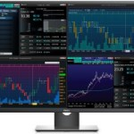43-inch Dell monitor shows one 4K display or four independent displays