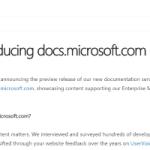 docs.microsoft.com replaces MSDN