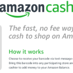 You can now use cash to buy from Amazon.com
