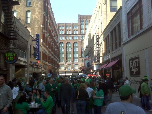 2009 St. Patrick's Day In Cleveland
