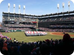 Progressive Field On Opening Day 2011