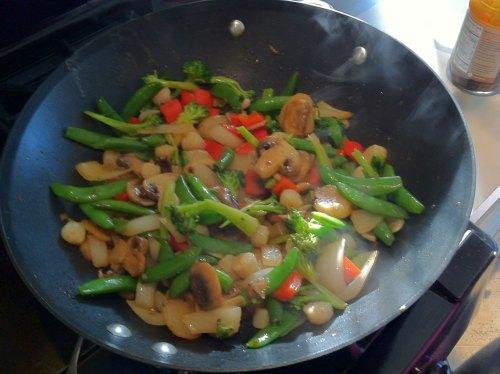 Stir Fried Dinner