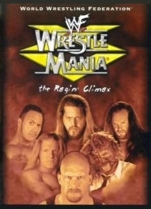 WrestleMania XV Poster