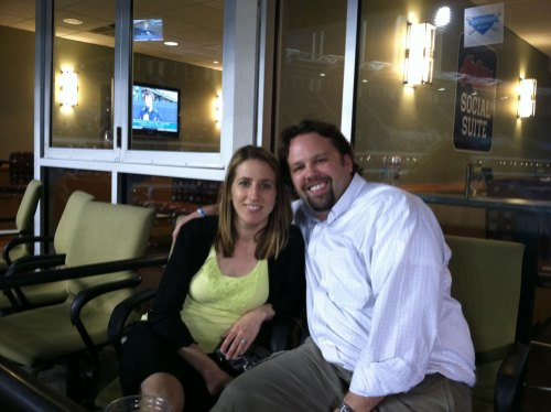 Me & The Wife In The Indians Social Suite
