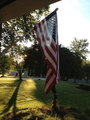 September 11th Flag - Morning