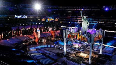 WrestleMania 29 Set