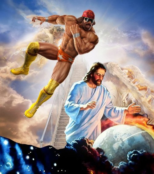 Macho Man Stops The Rapture