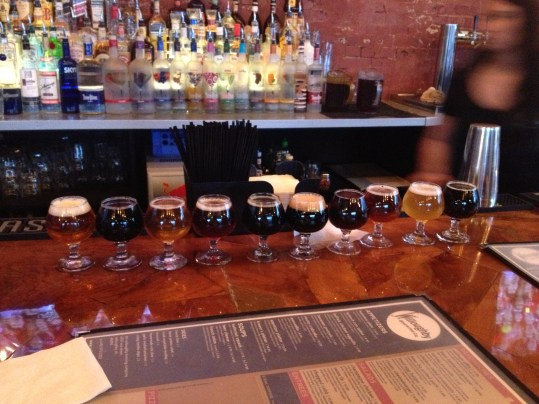 Willoughby Brewing Flight