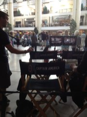 On Set For Captain America: The Winter Soldier (3)