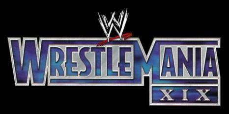 WrestleMania 19 Logo