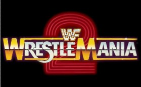 WrestleMania 2 Logo