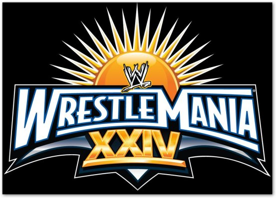 WrestleMania 24 Logo