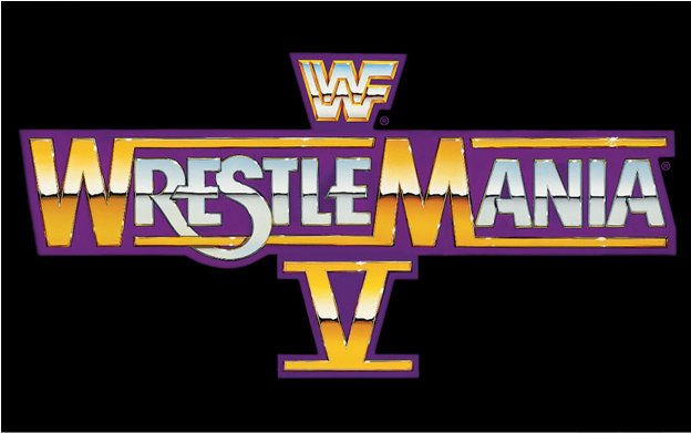 WrestleMania 5 Logo