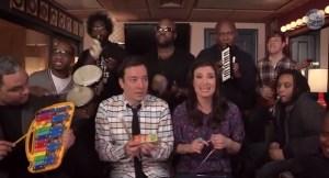 Jimmy Fallon, Idina Menzel & The Roots