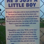 He's Just A Little Boy – #EveryField
