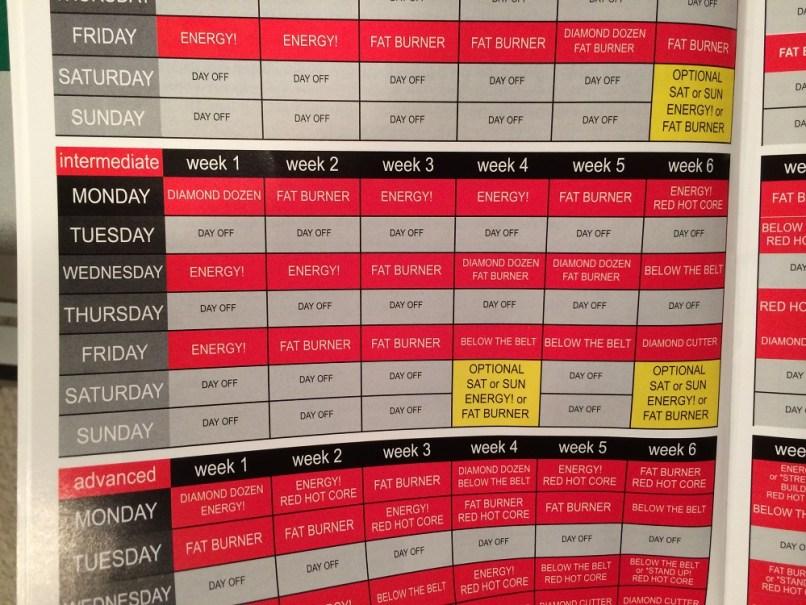 Crazy image regarding ddp yoga schedule printable