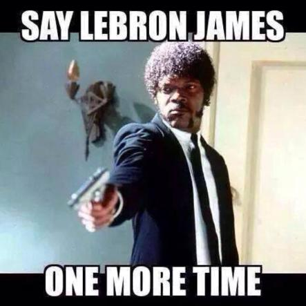 Jules Winnfield On LeBron James
