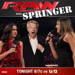 Jerry Springer On RAW