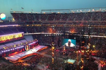 WrestleMania 31 - Crowd