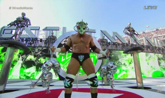 WrestleMania 31 - HHH Terminator Skulls