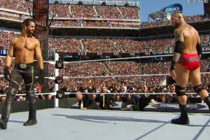WrestleMania 31 - Orton Rollins