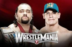 WrestleMania 31 - Rusev Vs John Cena