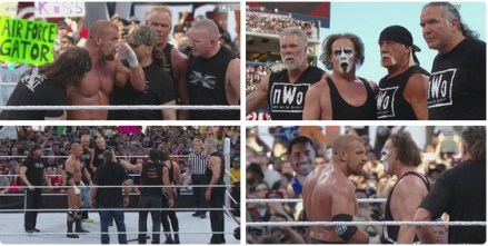 WrestleMania 31 - Sting HHH