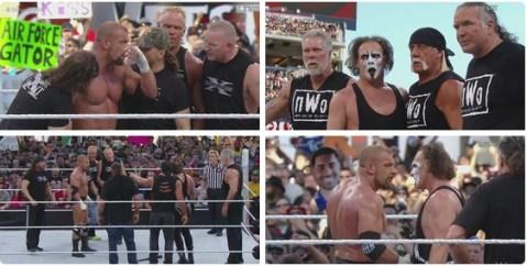WrestleMania 31 - Sting HHH