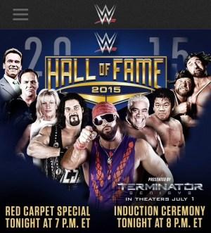 2015 WWE HOF Ceremony