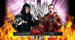 WrestleMania 32 Undertaker Vs. Sting
