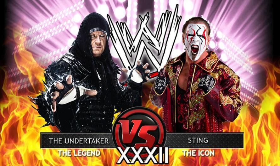 Sting Vs. Undertaker At WrestleMania 32 – Get Ready