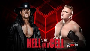 Hell in a Cell - Undertaker v Lesnar
