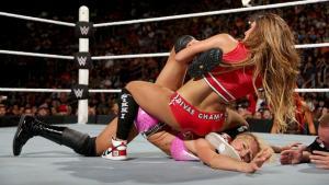 Night of Champions - Charlotte v Nikki Bella