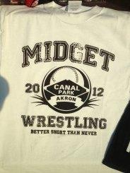 Midget Wrestling 2012 - Shirt