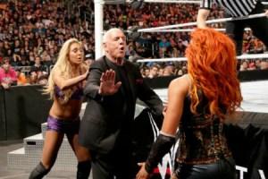 Royal Rumble 2016 - Charlotte vs Becky Lynch