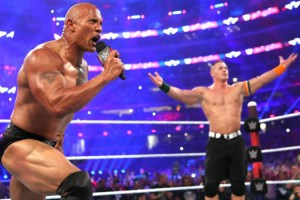 WrestleMania 32 - Rock vs Rowan