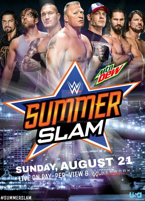 SummerSlam (2016) Poster