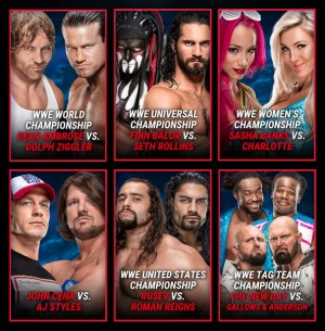 SummerSlam 2016 This Sunday - Card