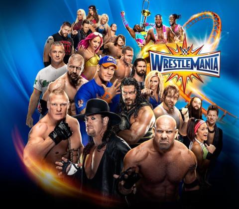 WrestleMania 33 Poster