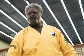 """Shaquille O Neal as """"Big Fella"""" in UNCLE DREW. Photo courtesy of Lionsgate."""